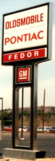 Fedor Olds Sign